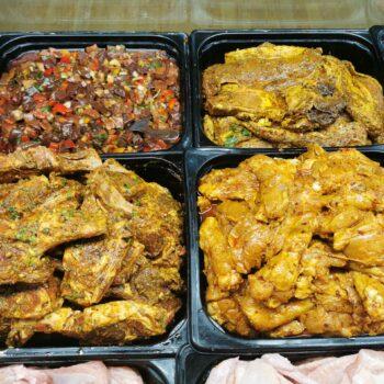 Halal Marinated Meat