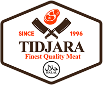 TIDJARA HALAL MEAT Logo